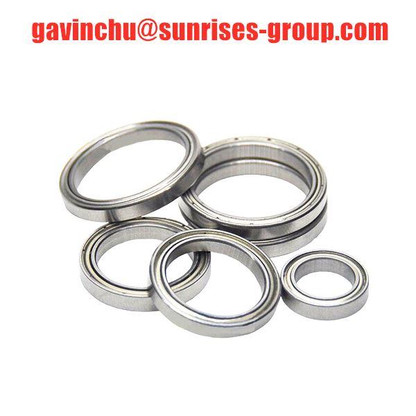 6701 ZZ thin section deep groove ball bearing 6701ZZ micro bearing